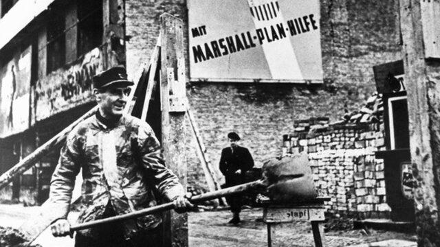 Los Estados Unidos implementaron el Plan Marshall