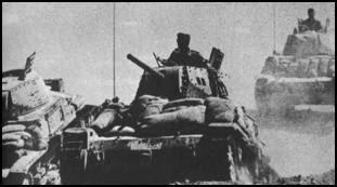 Los italianos invaden Egipto