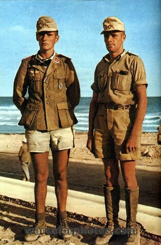 Los alemanes envían los Afrika Korps al norte de África