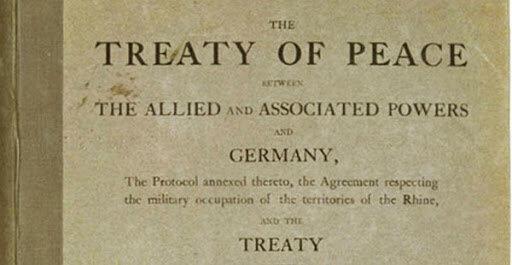 Términos del Tratado de Versalles
