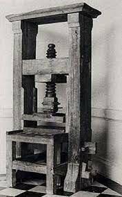 Fue introducida la primera imprenta
