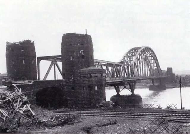 Las tropas estadounidenses cruzaron en río Rin