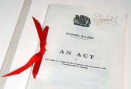 The Australia Act was Signed