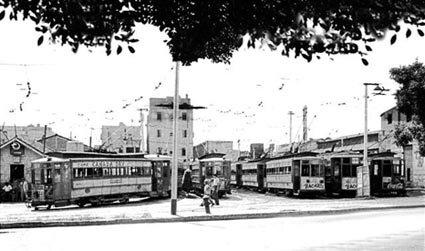 Desaparición del tranvías