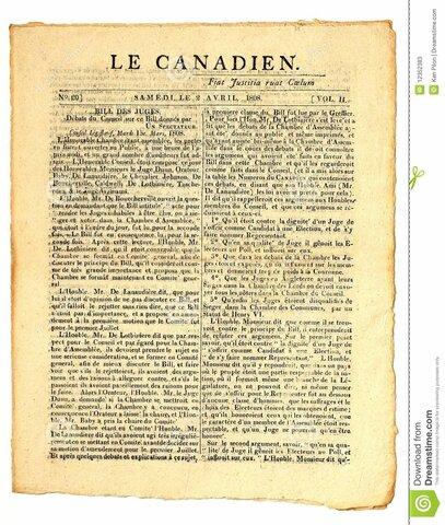 Fermeture du journal Le Canadien