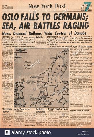 Invasione della Danimarca e Norvegia