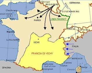 Germania attacca la Francia