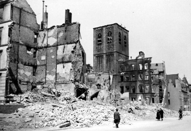 bombardamenti inglesi su suolo tedesco