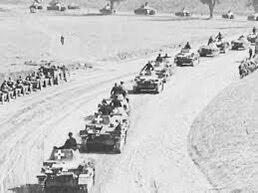 Germany's blitzkrieg on Poland