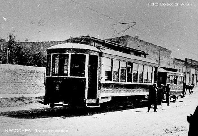 """La llegada de los """"tramways"""""""