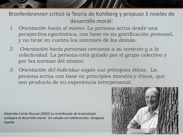 (Bronfenbrenner, 2002), propuesta educativa construida