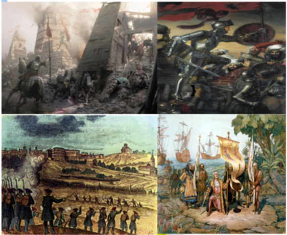 Hechos mas significativos de la historia en ese periodo