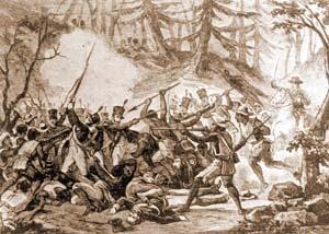 Hidalgo y Allende vencen a las afueras de Ciudad de México a 1000 criollos realistas pero claman la retirada.