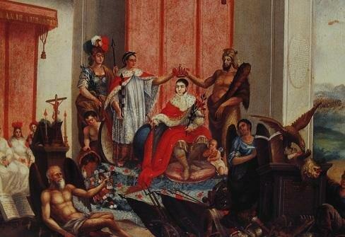 Iturbide se corona emperador de México.