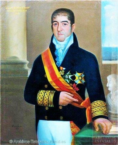 Es nombrado Virrey Juan Luís de Apodaca.