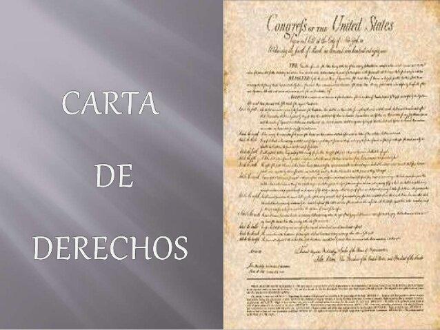 La carta de derechos de Inglaterra representa la victoria sobre el absolutismo del Rey.