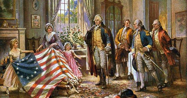 La declaración de la Independencia de los EE.UU. Proclama que todos los hombres son creados iguales.