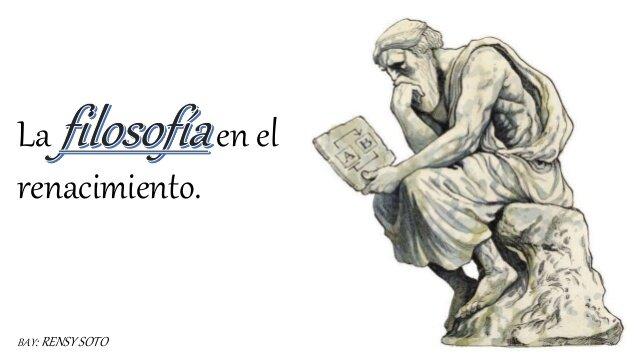 EL INTERÉS POR LA FILOSOFÍA Y LAS IDEAS CLÁSICAS: H 1.0