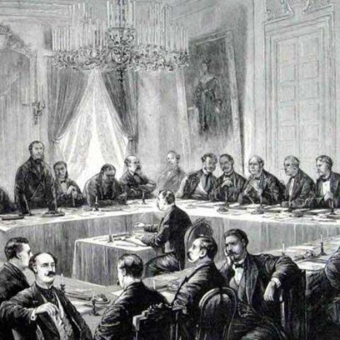 Acta general de la Conferencia antiesclavista de Bruselas, para reprimir la trata, proteger las poblaciones aborígenes del África y asegurar a dicho continente los beneficios de la paz y la civilización: firmada en Bruselas el 2 de julio de 1890