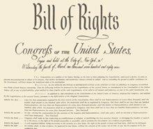 La Constitución de Estados Unidos de América (1787) y la Carta de Derechos (1791)