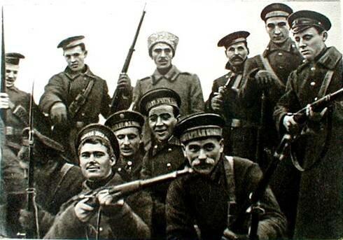 La revolución bolchevique de octubre