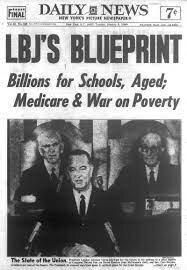 President Johnson Proposes His Great Society Program