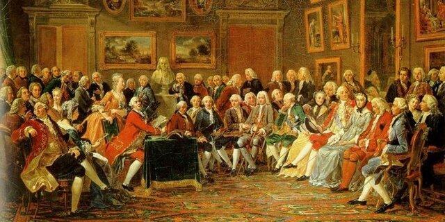 El movimiento de la Ilustración surgió bajo la influencia del humanismo.