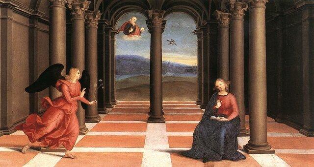 Annunciation by Raphael