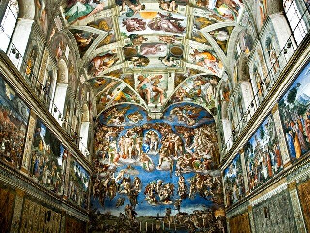 Sistine Chapel Ceiling-Michelangelo