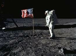 Astronauts Neil Armstrong And Edwin Aldrin, Jr. Become The First Men To Land On The Moon