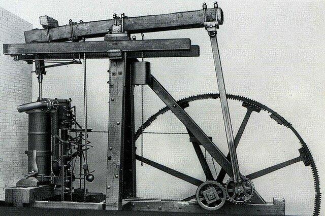 La maquina de vapor (1712)