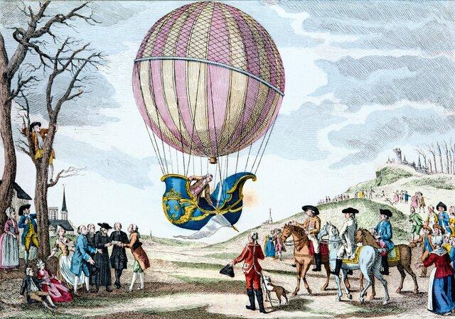 Globo aerostático (1709)