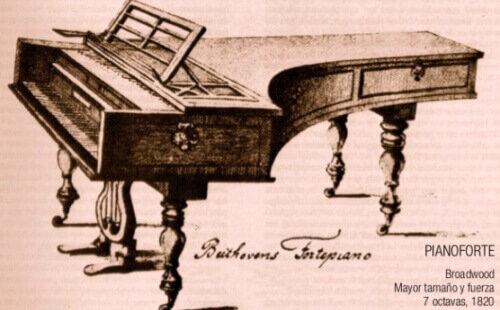 El piano (1700)