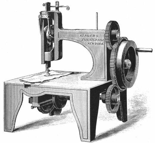 La máquina de coser (1790)