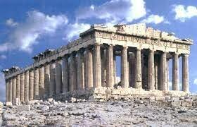 Començament de la construcció del Partenon