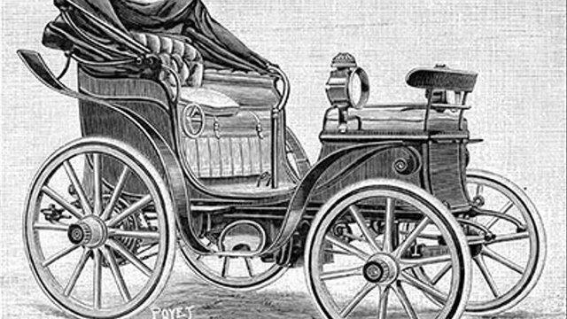 Invencío d'un cotxe elèctric