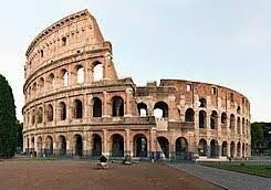 Construcció del coliseu romà