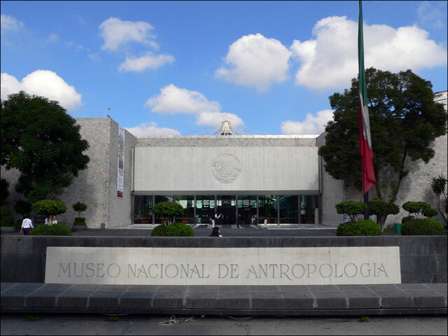 Inauguración del Museo Nacional de Antropología