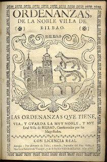 1737, Ordenanzas de Bilbao