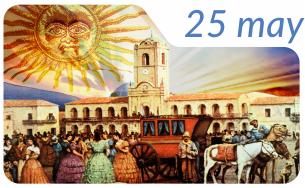 1810, Revolución de Mayo