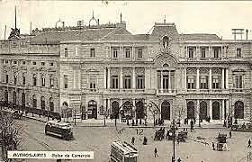 1821, Se creó la Bolsa Mercantil y se sanciono la Ley reglamentaria de corredores y martilleros.