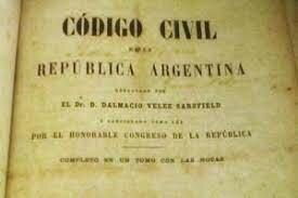 1869, Código Civil