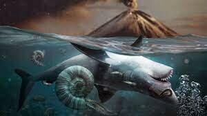 2nd mass extinction of species.