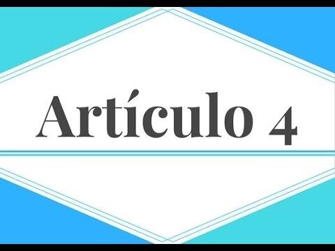 Paso 3 - Artículo 4, Oposiciones