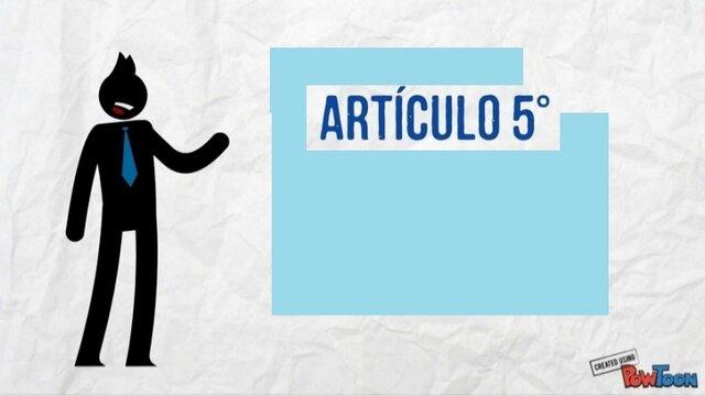 Paso 4 - Artículo 5, Embargo
