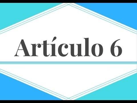 Paso 5 - Artículo 6, Otorgamiento del Documento de Transferencia