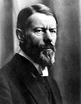muerte de Max Weber