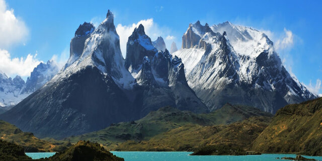 The formation of the Andes mountain range ends.