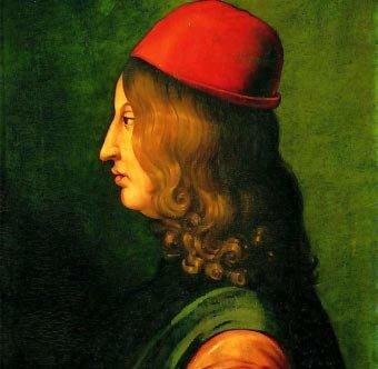 El italiano Juan Pico Della Mirandola (1463 - 1494).