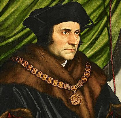 El inglés Tomás Moro (1475-1535).
